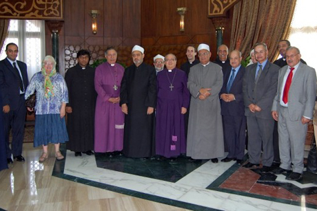 Delegation from the Anglican Communion and from Al Azhar Al Sharif. Cairo 2010